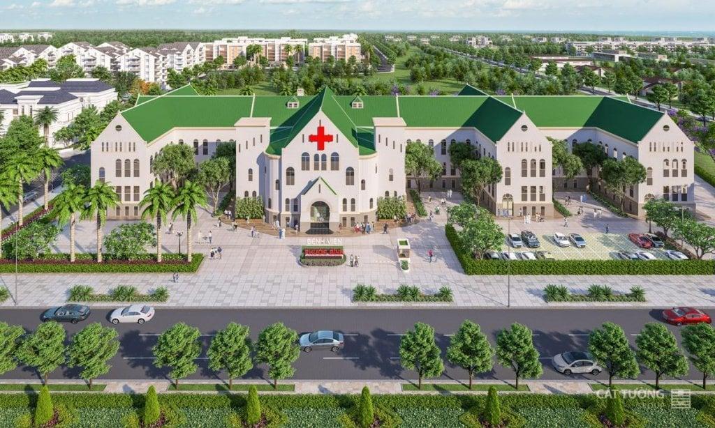 Bệnh viện Quốc Tế Phước Bình cách dự án Sunview Đồng Xoài 3 phút di chuyển