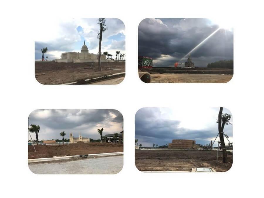 Công viên đã được đi vào xây dựng ở Tiến Hưng - TP Đồng Xoài.