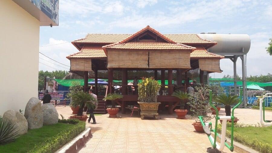 Nhà mát dự án đất nền sunview central bình phước