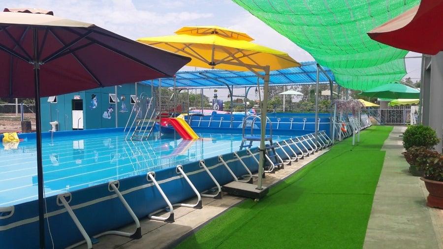 Hồ bơi dự án đất nền sunview central bình phước
