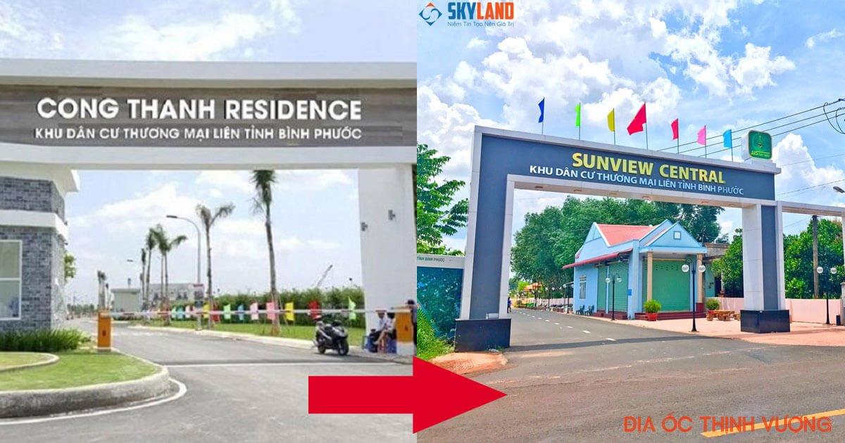 Dự án Công Thành Residence đổi tên thành Sunview Central