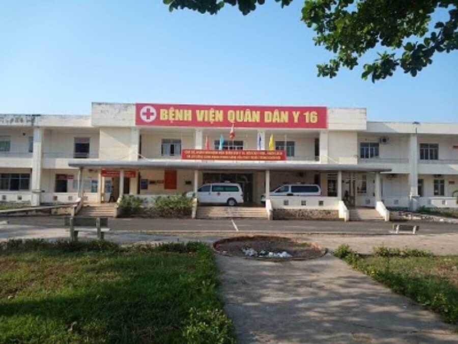Bệnh viện quân dân y 16 thuộc binh đoàn 16
