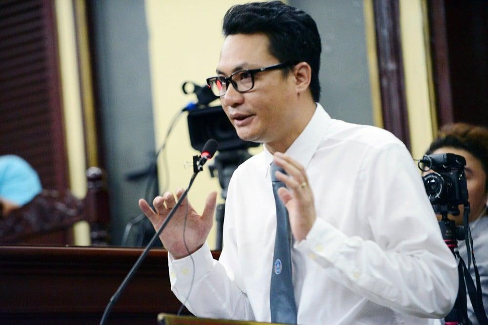Ông Nguyễn Văn Quynh - Giám đốc hãng luật Hưng Yên