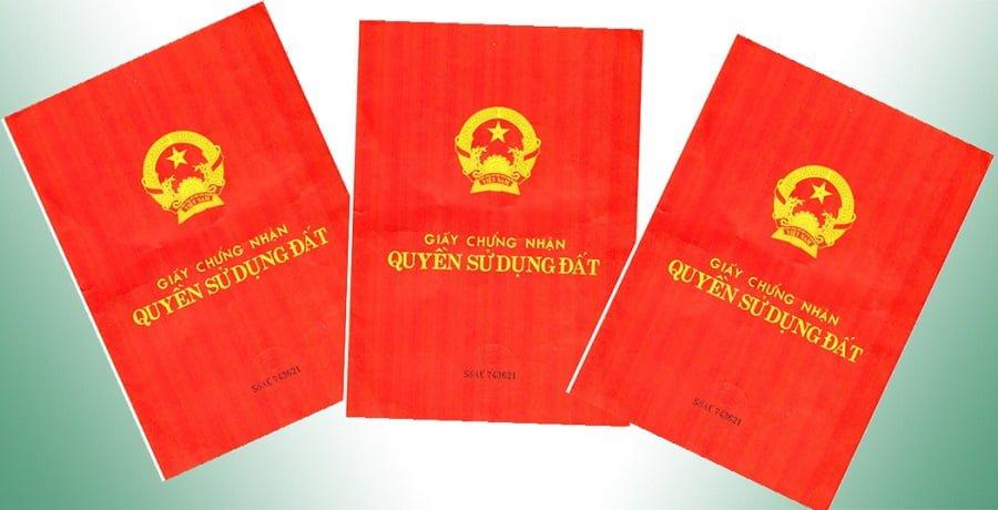 Mẫu giấy chứng nhận quyền sử dụng đất hay sổ đỏ