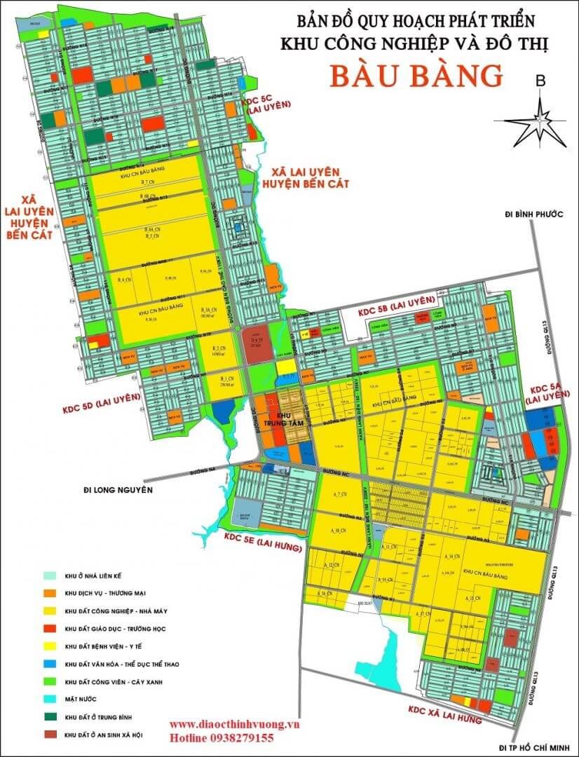 Pháp lý khu đô thị Bàu Bàng.