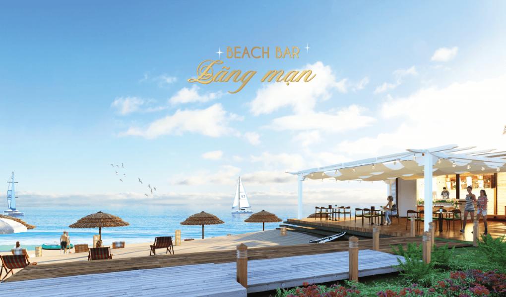 Beach bar lãng mạng