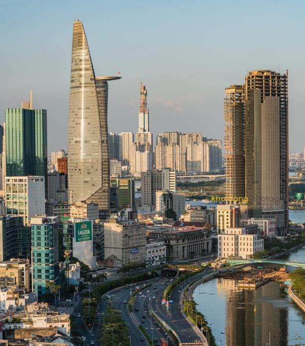 Bitexco từng là tòa nhà cao nhất Tp. Hồ Chí Minh