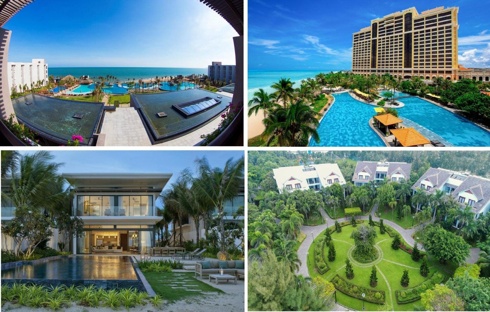 Giá cho thuê các Resort tại Hồ Tràm 1