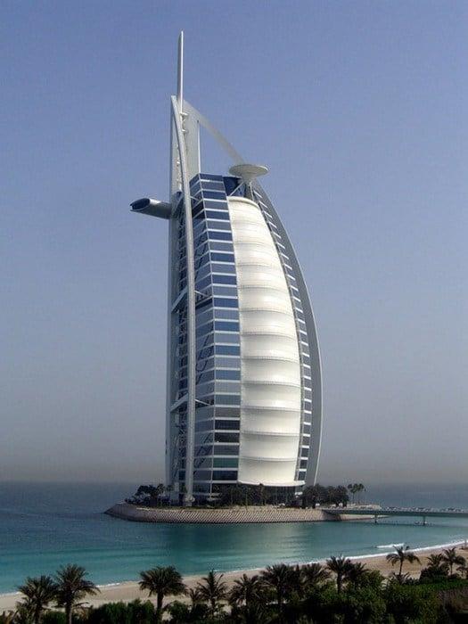 Atkins chính là đơn vị đứng sau thiết kế của tòa nhà Burj Al Arab