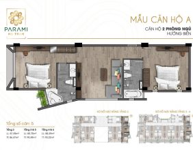 Mẫu thiết kế căn hộ A