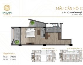 Mẫu thiết kế căn hộ C