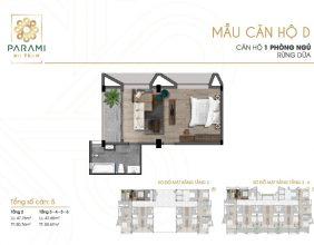 Mẫu thiết kế căn hộ D
