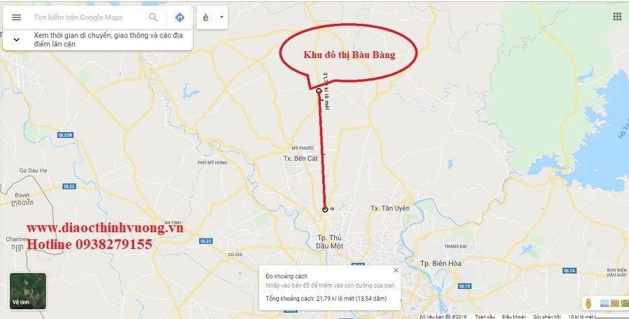 Đoạn đường cao tốc Mỹ Phước - Bàu Bàng