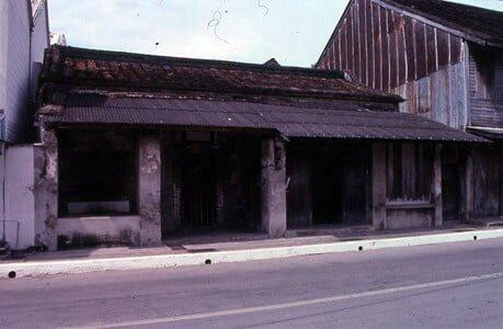 Shophouse tại Pattani, Thái Lan năm 1992