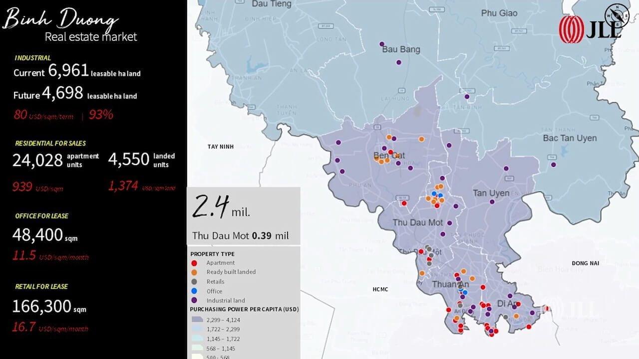 Khám phá tiềm năng Bất động sản các tỉnh phía Nam