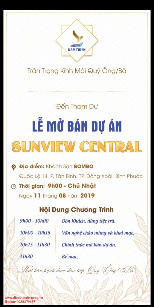 Sự kiện mở bán Sunview Central ngày 11/08/2019 1