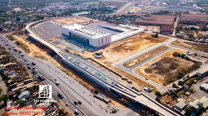 Bến xe Miền Đông mới sắp hoàn thiện