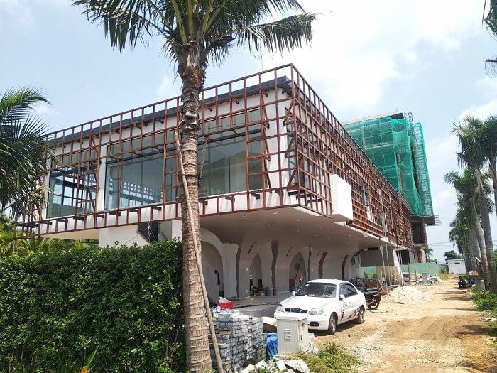 Tiến độ xây dựng các tiện ích bên trong Parami Hồ Tràm