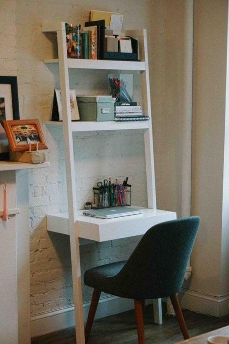 Thiết kế bàn để máy tính tí hon cho căn hộ nhỏ