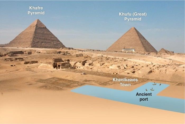 Mô phỏng một bến cảng tại Giza