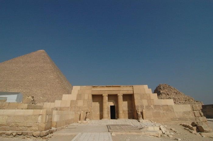 Một ngôi mộ Mastaba tại Ai Cập