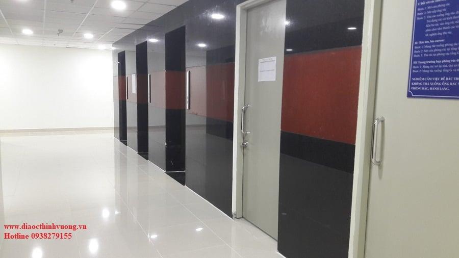 Kiểm tra về khu vực thang máy, khu kỹ thuậ