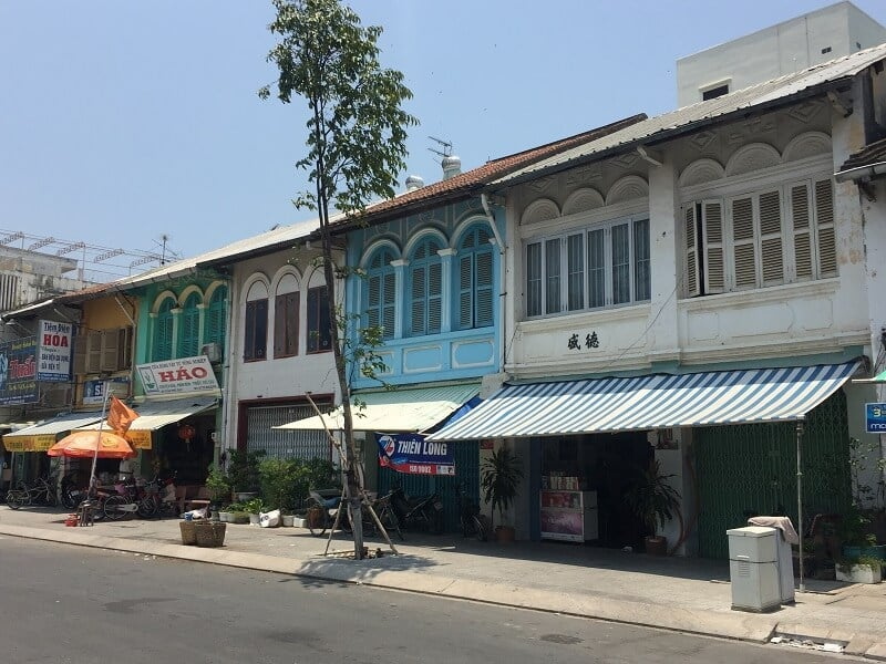 Mặt tiền Shophouse ở Việt Nam