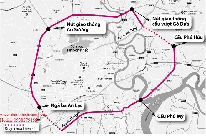 Đường Vành Đai 2 TP Hồ Chí Minh