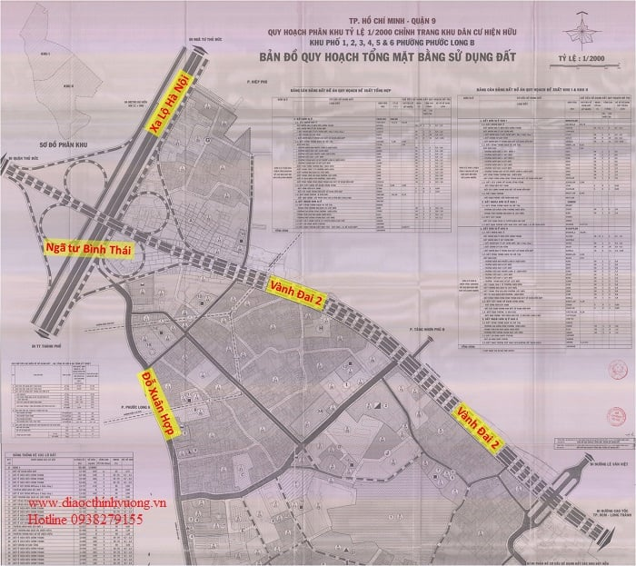 Đường Vành Đai 2 đoạn từ Võ Chí Công ra hướng ngã tư Bình Thái