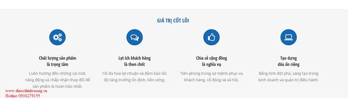 Giá trị cốt lõi mà Khang Điền muốn đem lại cho cộng đồng