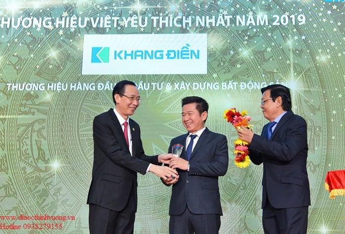 Thuong hieu viet nam 2019 cua Khang Dien diaocthinhvuong.vn
