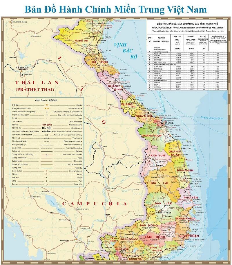 Bản đồ Việt Nam Cac Loại Cập Nhật Mới Nhất