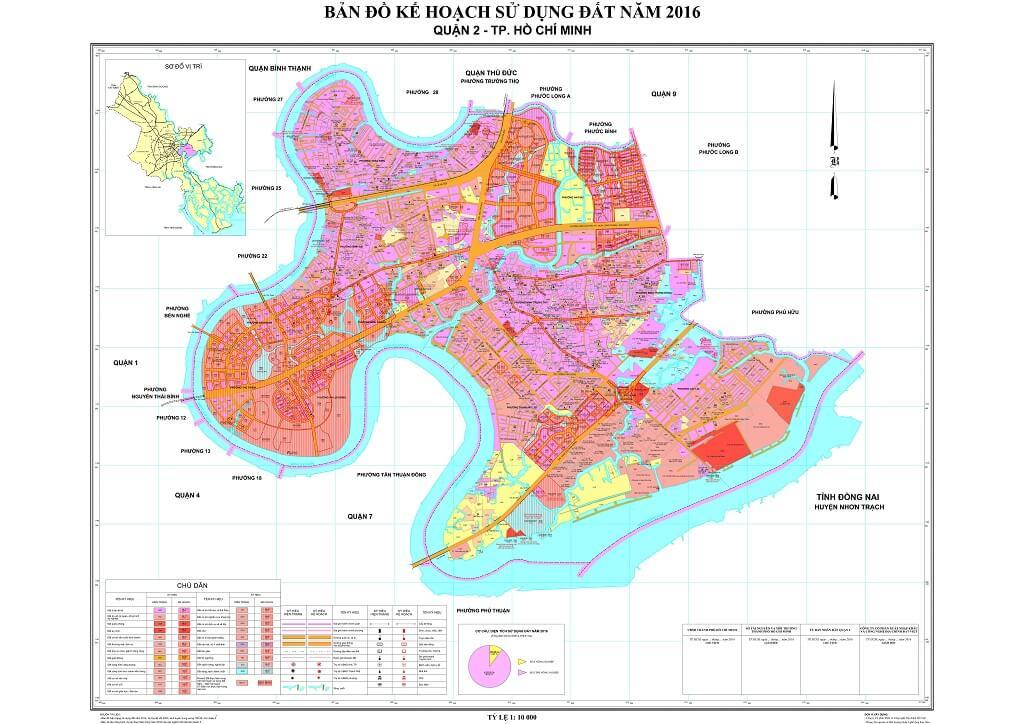 Bản đồ Quận 2 | Tổng hợp các loại 2