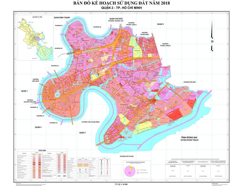 Bản đồ Quận 2 | Tổng hợp các loại 4