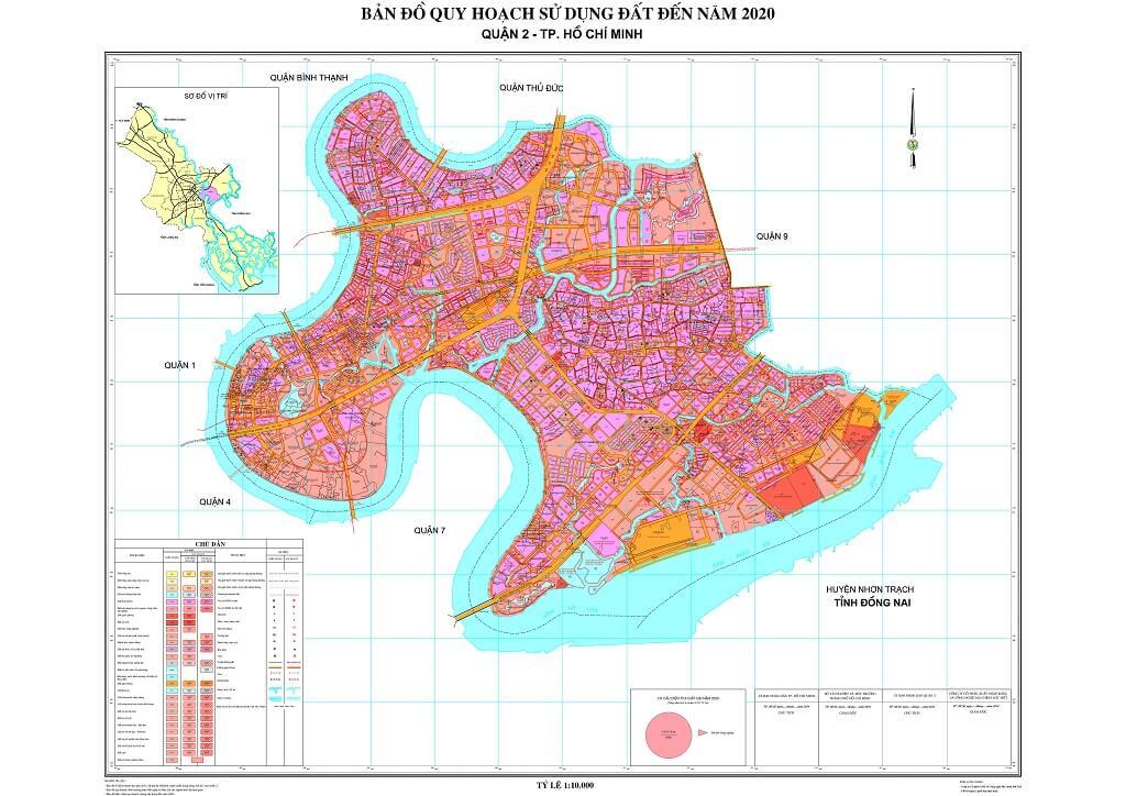 Bản đồ Quận 2 | Tổng hợp các loại 5
