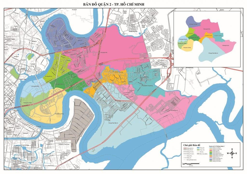 Bản đồ Quận 2