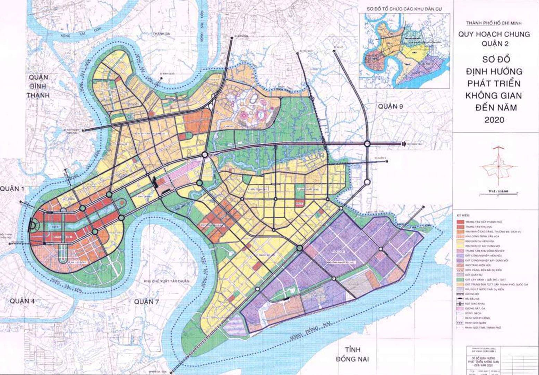 Bản đồ Quận 2 | Tổng hợp các loại 1