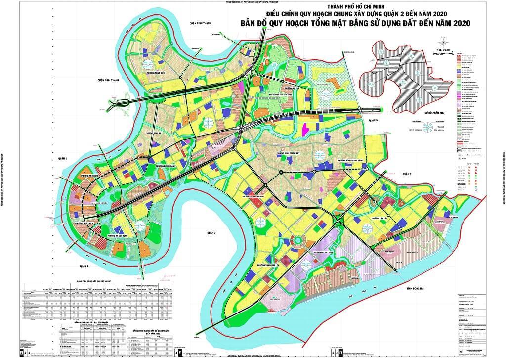 Bản đồ Quận 2 | Tổng hợp các loại 6