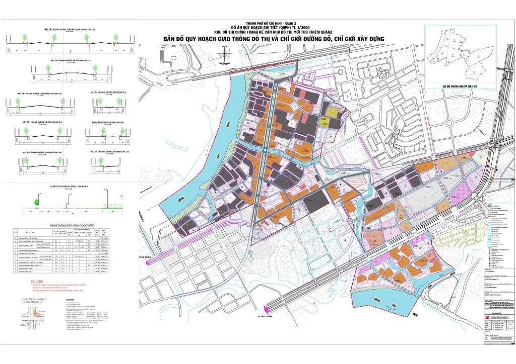 Bản đồ Quận 2 | Tổng hợp các loại 19