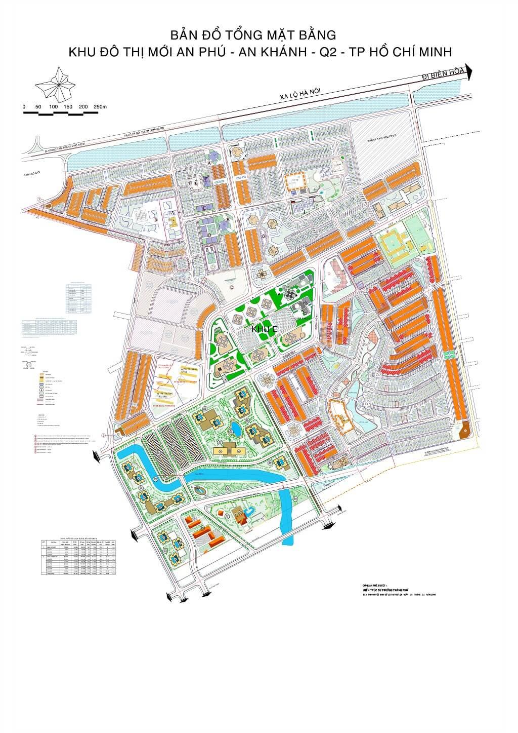 Bản đồ Quận 2 | Tổng hợp các loại 14