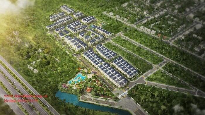 Phối cảnh dự án Verosa Park