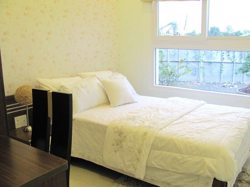 Phòng ngủ các phòng đều thông thoáng, đủ ánh sáng tự nhiên