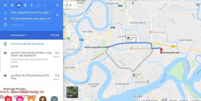 Từ nút giao thông An Phú đến căn hộ Ricca