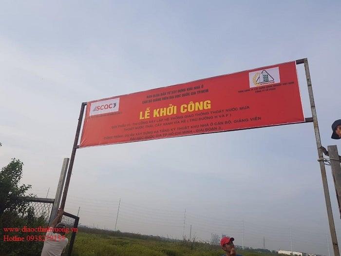 Lễ khởi công khu nhà ở CB ĐH QG TP Hồ Chí Minh.