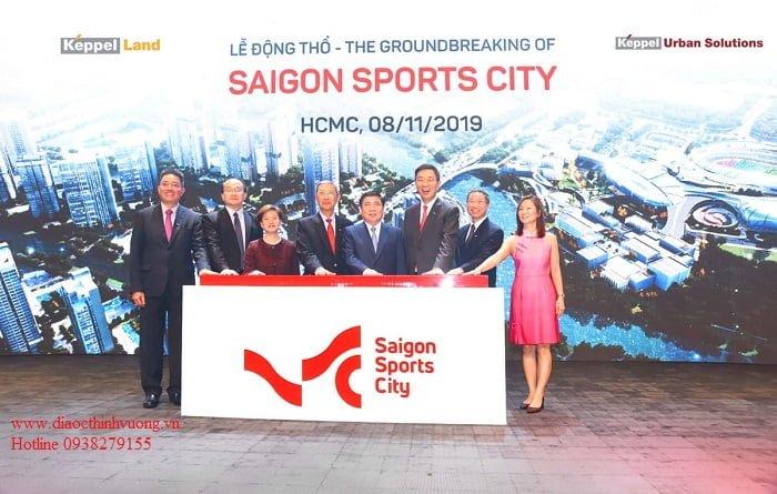 Lễ khởi công dự án liên hợp Saigon Sport City