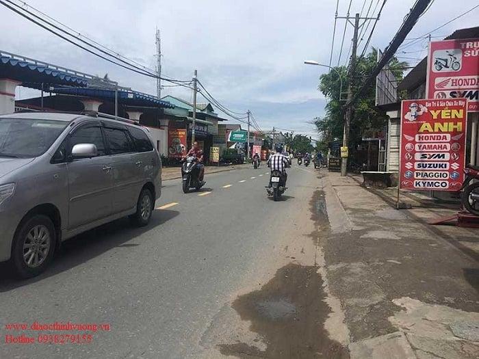 Đường Nguyễn Duy Trinh hiện hữu chỉ khoảng 10m và 2 làn xe.