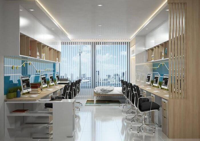 Thiết kế các căn hộ văn phòng officetel sang trọng