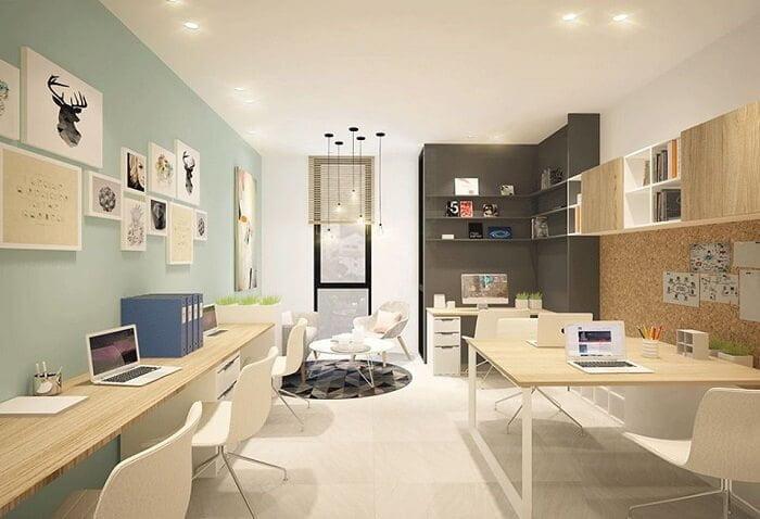 Căn hộ văn phòng officetel có diện tích phù hợp với nhu cầu sử dụng