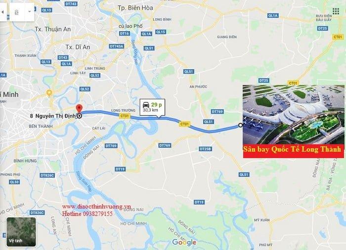 Căn hộ Dlusso về sân bay QT Long Thành chỉ 30 phút