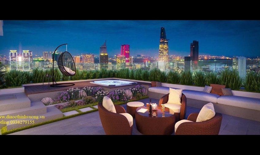 Căn Sky Villa tại The Grand Manhattan Quận 1
